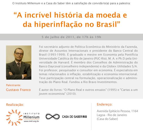 palestra Gustavo Franco
