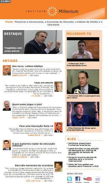 Newsletter 05 janeiro 2012