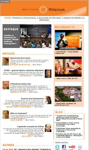 Newsletter 19 abril 2012