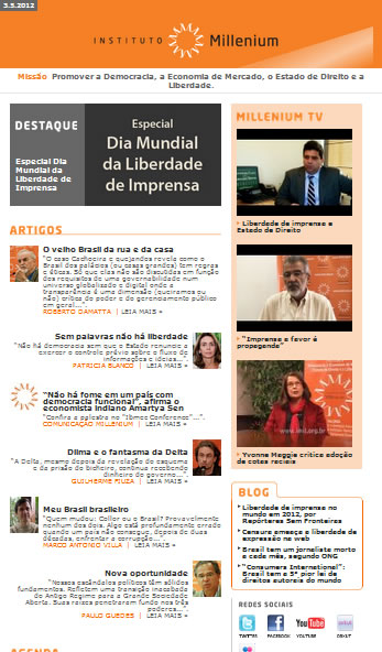 Newsletter 03 maio 2012