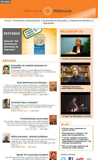 Newsletter 24 maio 2012