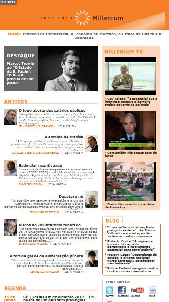 Newsletter 06 junho 2012