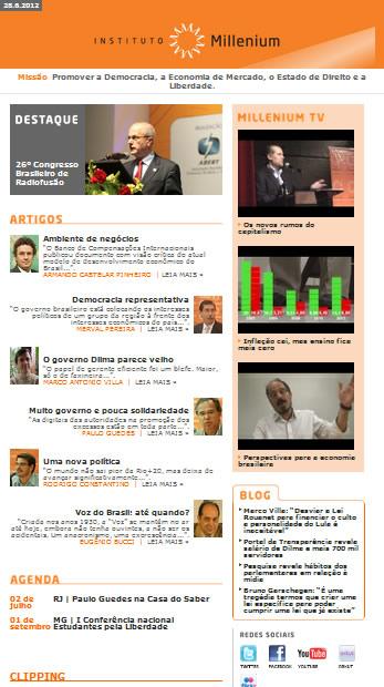Newsletter 28 Junho 2012