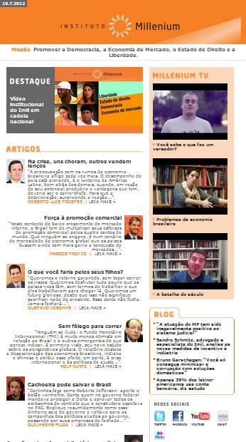 Newsletter 19 julho 2012