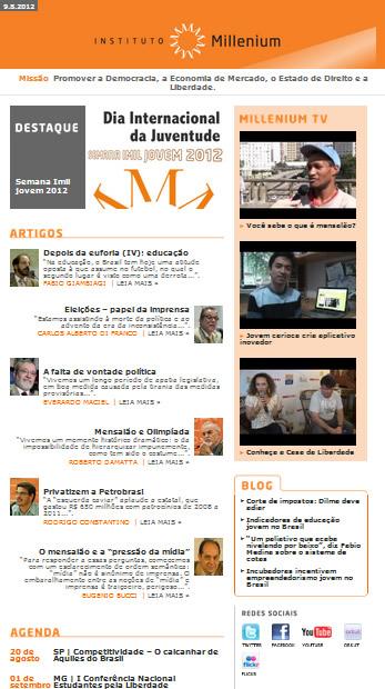 Newsletter 09 Agosto 2012