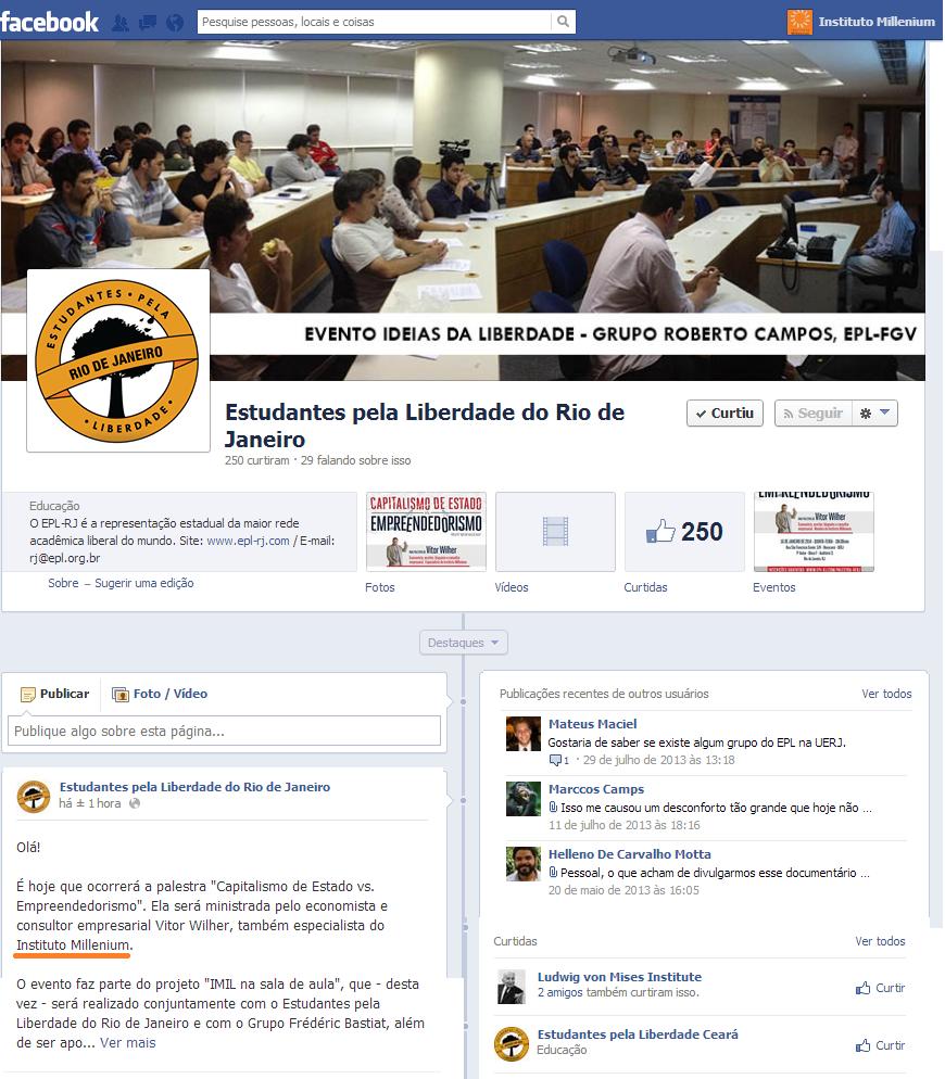 Facebook_clipping_estudantes pela liberdade