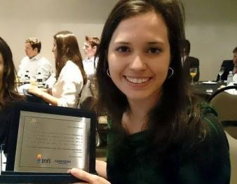 Karen Mendes (vencedora do prêmio Febraban)