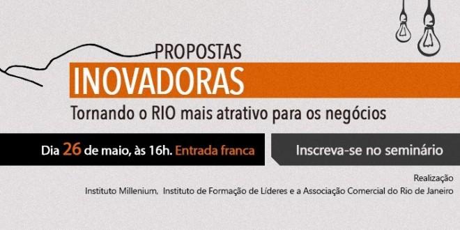 Últimas vagas para seminário que vai discutir a economia do Rio