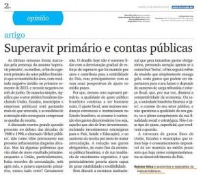 Clipping artigo Gustavo Grisa