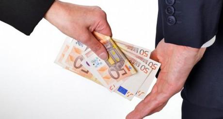 corrupção suborno