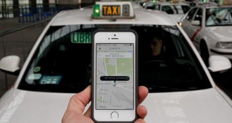 Uber taxis e motoristas pagos