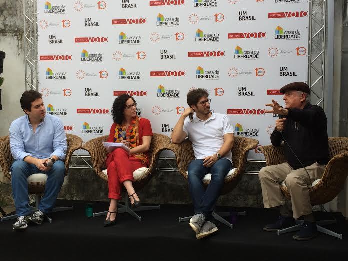 Pedro Neves , Branca Nunes, Pedro Pires e Roberto Teixeira da Costa