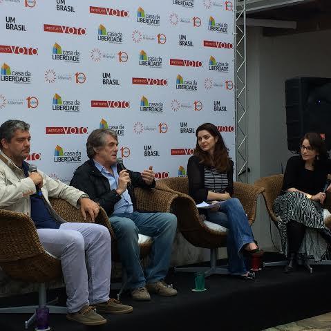 Marcos Troyjo, William Wadsworth, Daniella Diniz e Luciana Pianaro